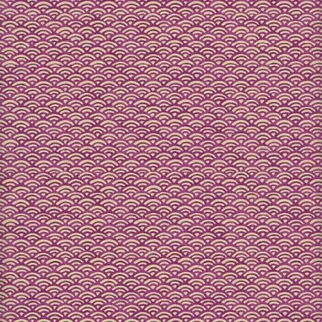Papier japonais Petites Écailles sureau