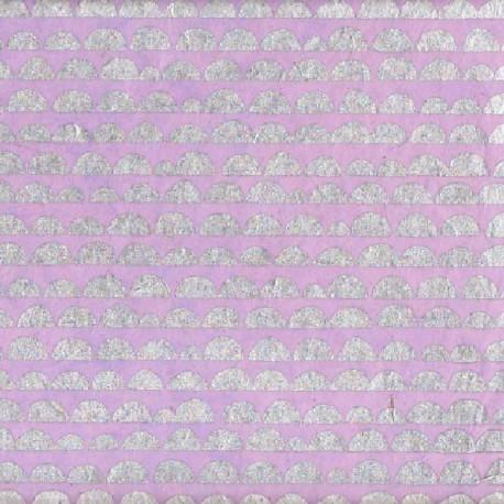 Papier népalais Potato quartz rose