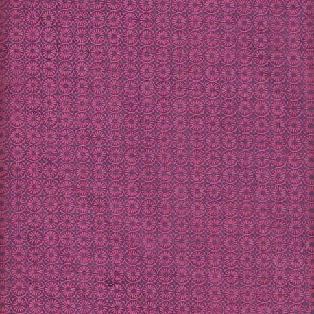 Papier népalais Soleil fleuri violet