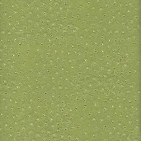 Autruche vert amande