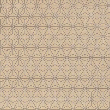 Papier népalais Sashiko coquille