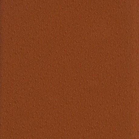 Papier cuir Ostra marron clair