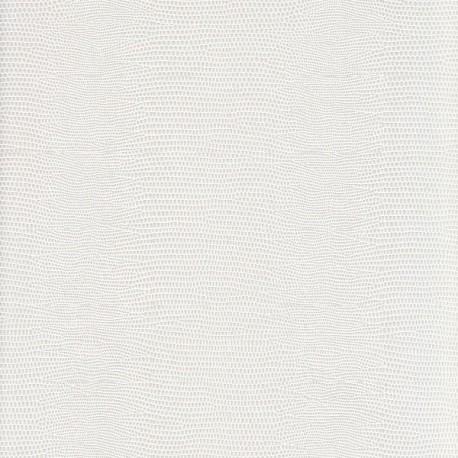 Lézard blanc