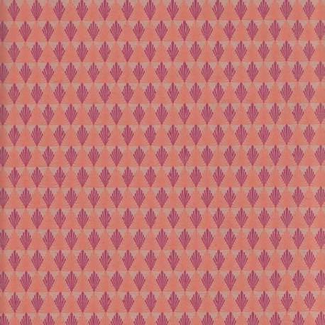 Papier d'Inde Gatsby beige rosé