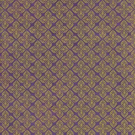 Papier népalais Mauresque violet