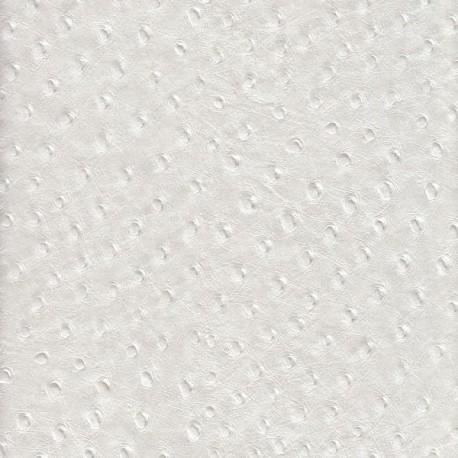 Papier Autruche blanc irisé