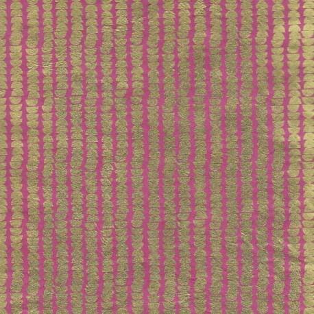 Papier népalais Potato framboise