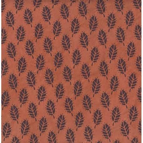 Papier népalais Effervescence de feuilles
