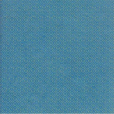 Papier népalais Square turquoise