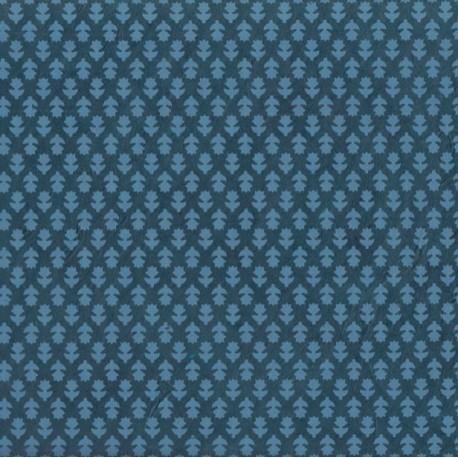 Papier népalais Thimi bleu canard