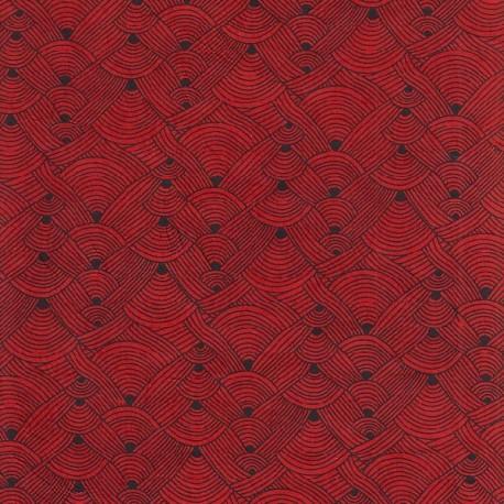 Papier népalais Chanel rouge