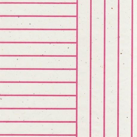 Papier Stripes fushia
