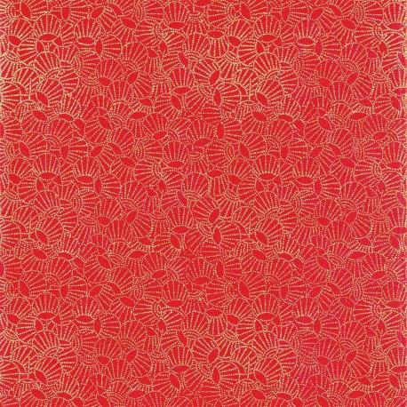 Papier japonais Lampions rouge