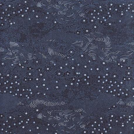 Papier japonais Pointillisme nuit