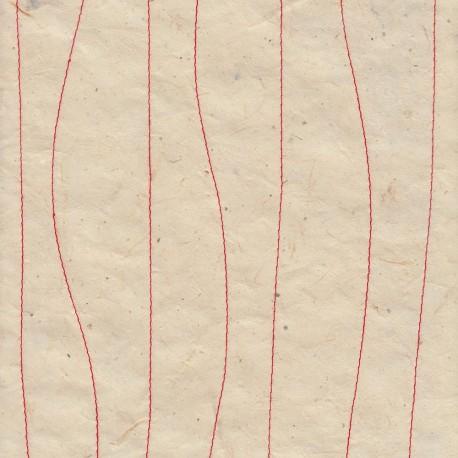 Papier népalais Patchwork bleu