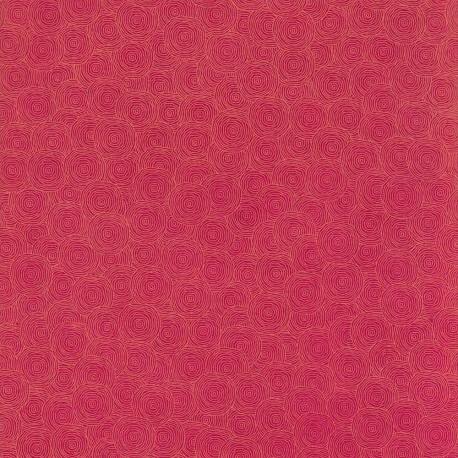 Papier népalais Rondanlo framboise